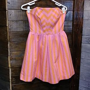 Lilly Pulitzer Eve Hotty Stripe Pink Swizzle